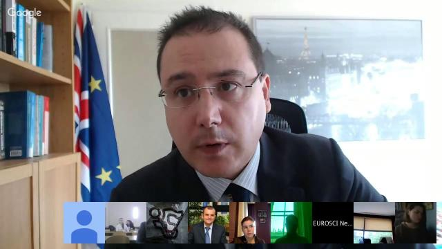 Embedded thumbnail for EUROSCI lecture: Dr Giacomo Benedetto on Brexit and the future of the EU (feat. Professor Fabio Franchino)