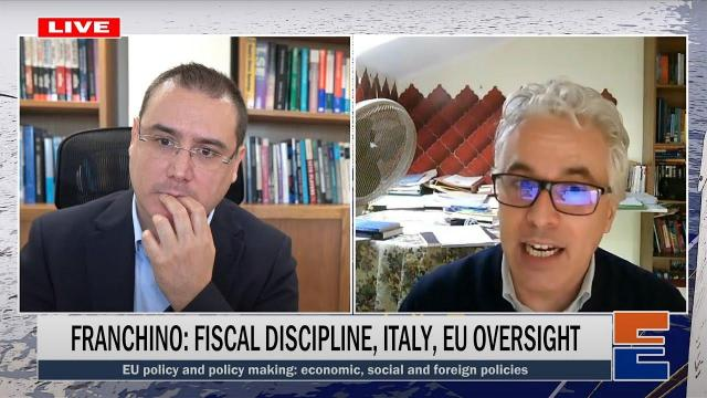 Embedded thumbnail for Fabio Franchino: Fiscal discipline, Italy, EU oversight