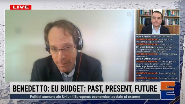 Embedded thumbnail for Giacomo Benedetto: EU budget: past, present and future