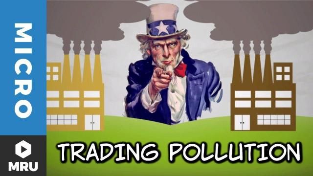 Embedded thumbnail for Should tradeable pollution permits be given away by governments?