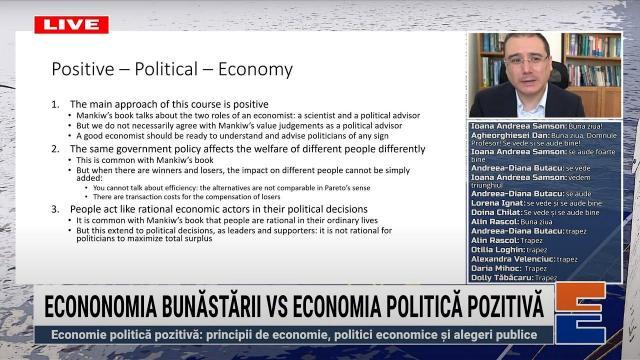 Embedded thumbnail for Economia bunăstării vs economia politică pozitivă